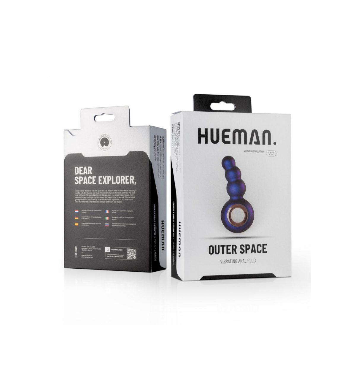 hueman analplugg outer space vibrating