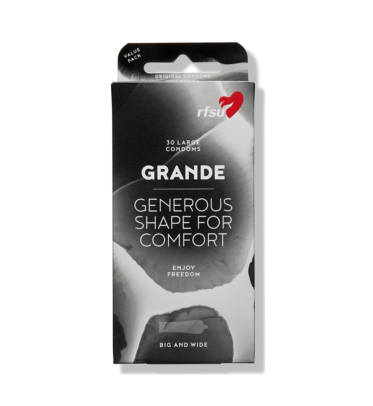 rfsu grande kondomer 30 pack