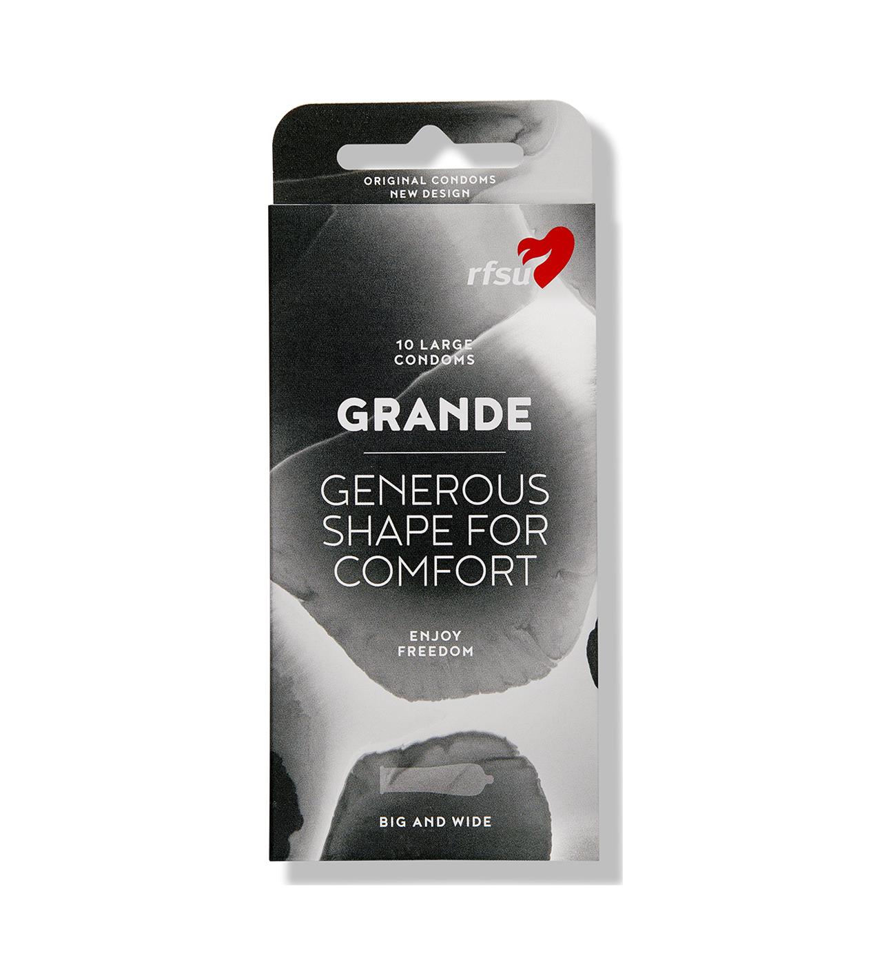 rfsu grande kondomer 10 pack