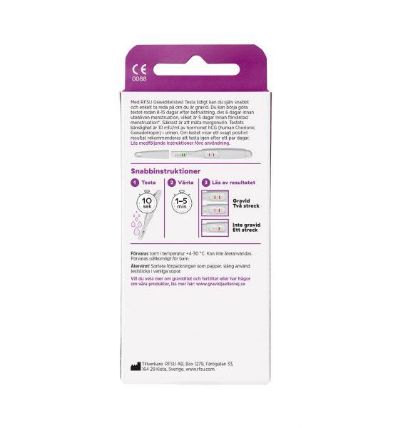 graviditetstest rfsu testa tidigt 1p