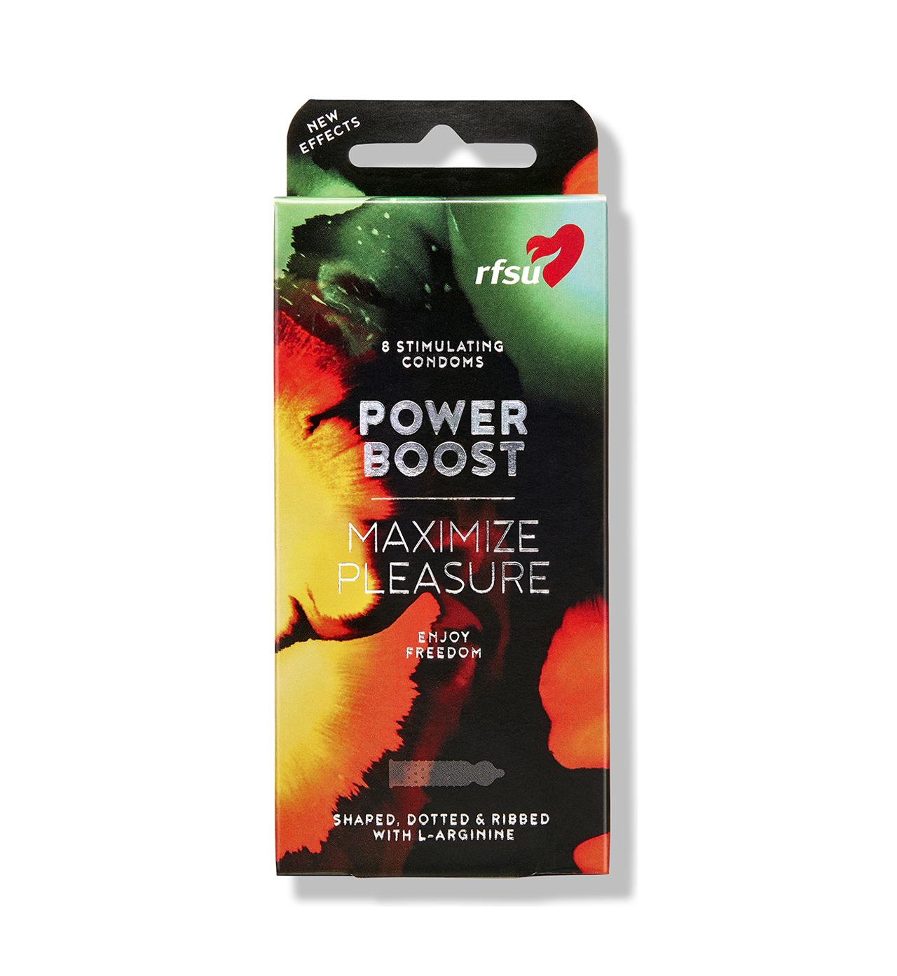 rfsu power boost kondomer 8 pack