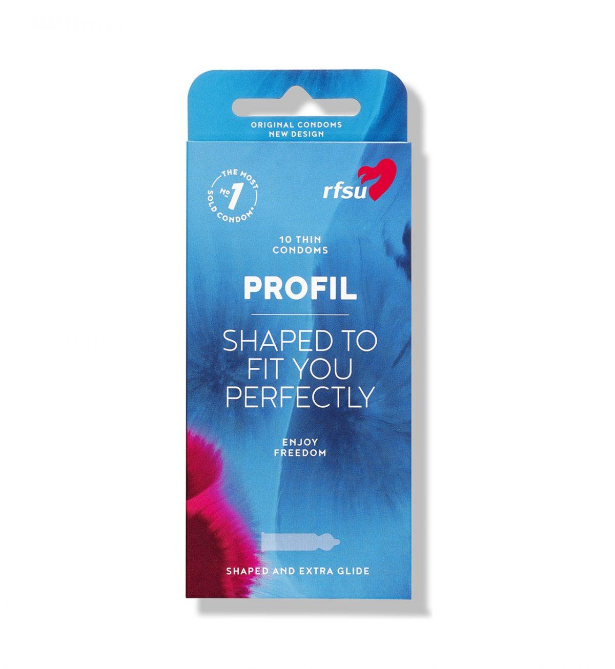 rfsu profil kondom 10 pack