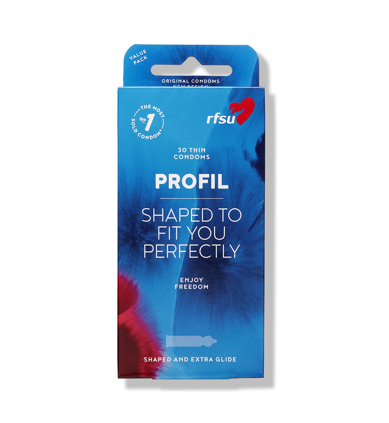 rfsu profil kondomer 30 pack