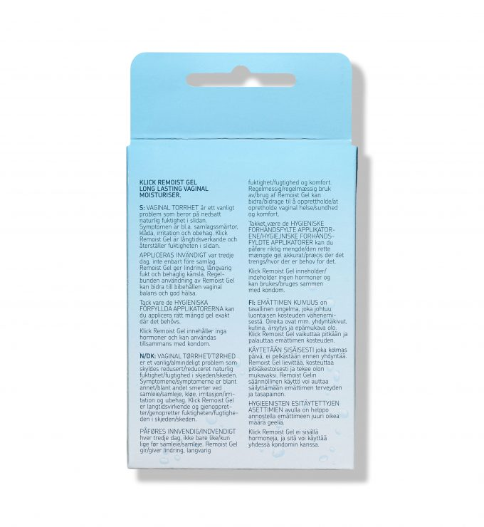 klick remoist gel 10 pack rfsu