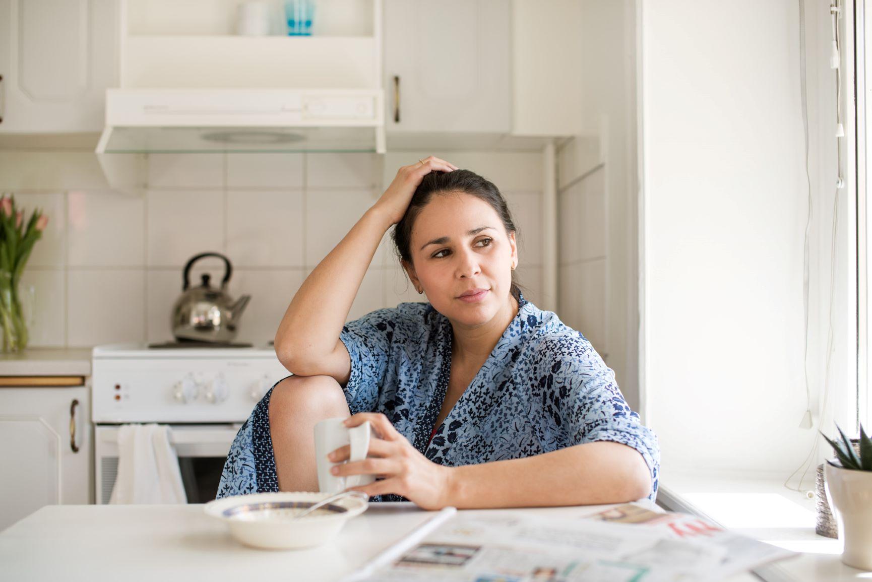 mensvärk eller graviditet