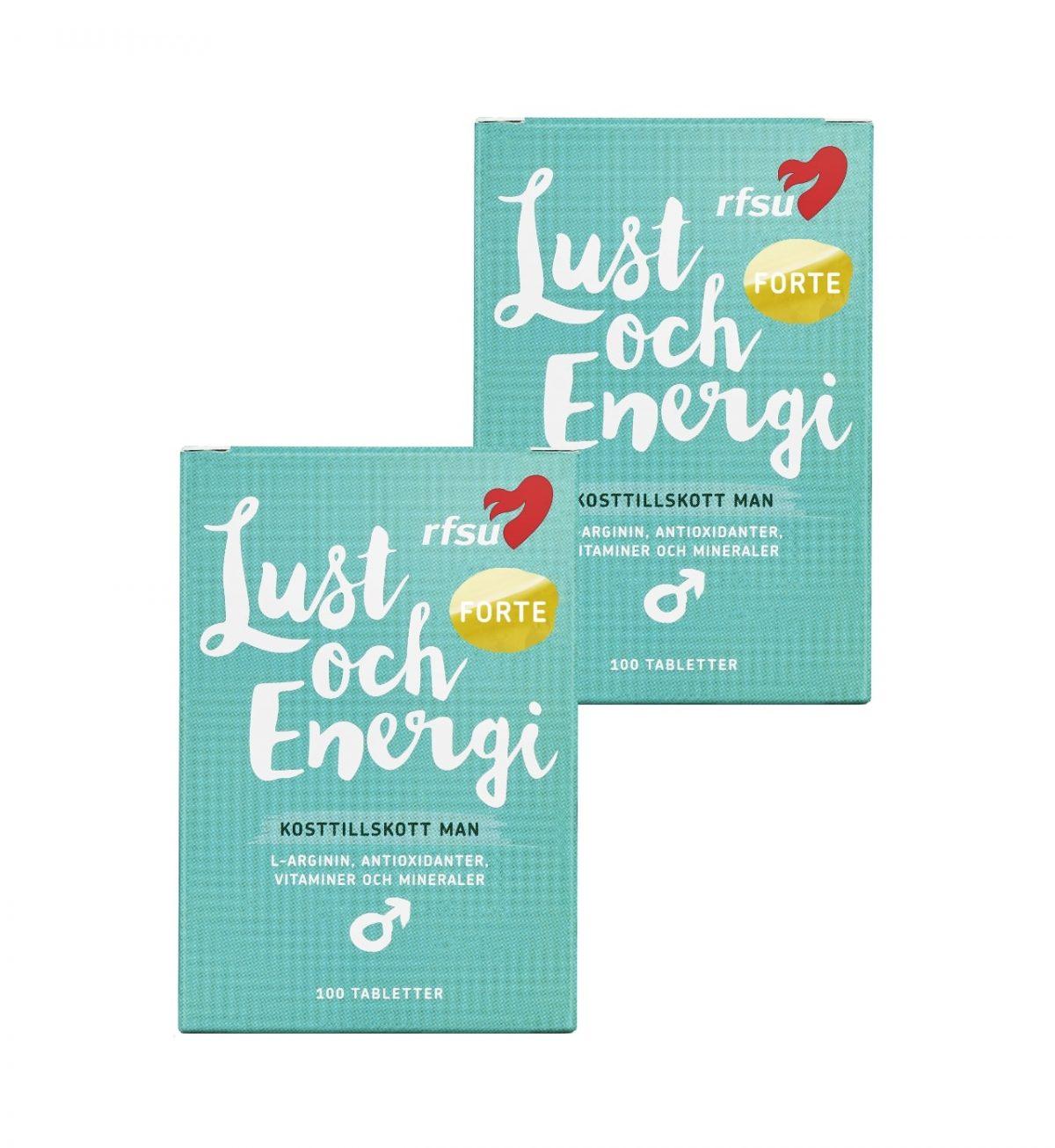 lust och energi man 2 pack rfsu