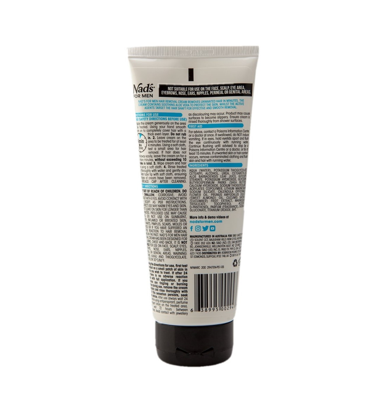 hair removal cream nads for men