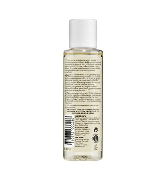 intimolja cleanse intimate oil rfsu