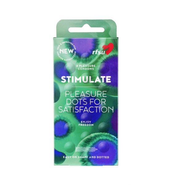 Stimulate 8 st - Kondom med känsla för båda - RFSU